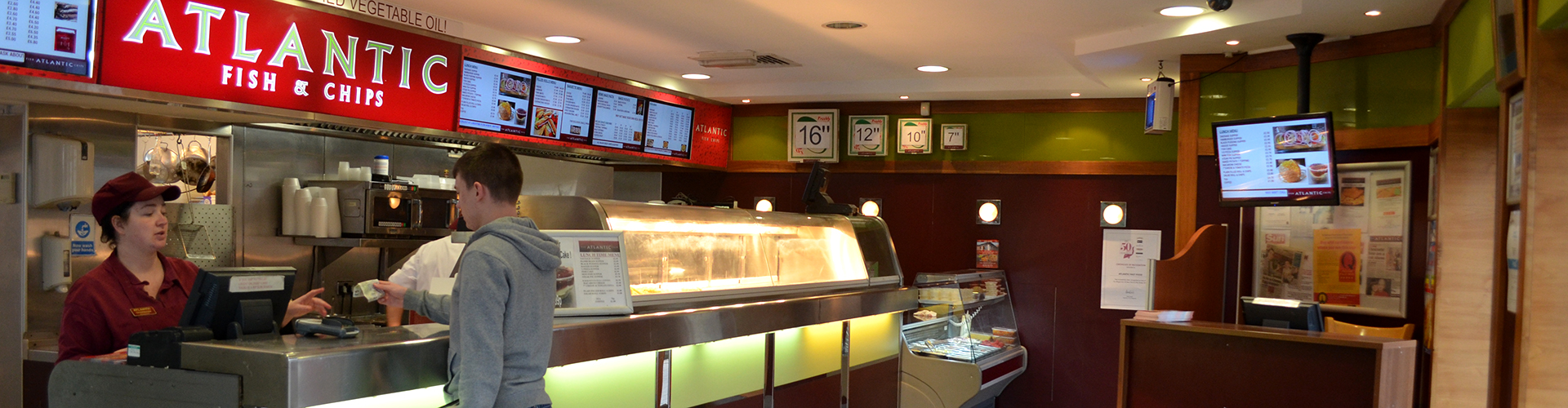 image of atlantic chip shop interior
